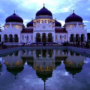Gambar bukanlah foto istana Kerajaan Mataram Islam